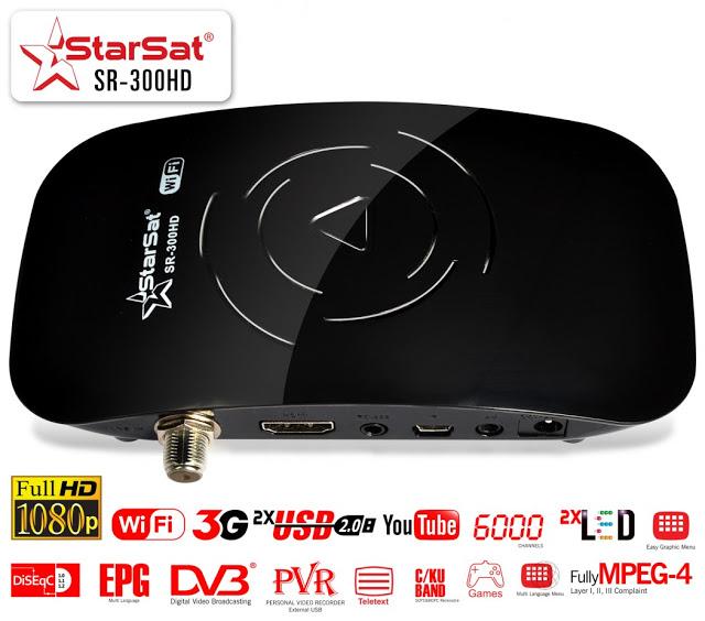 Starsat SR-300HD Satellite Receiver Software, Tools