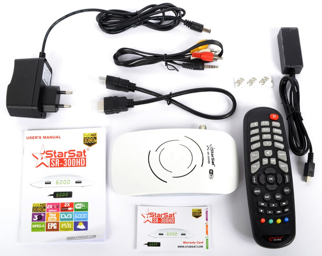 Starsat SR-300HD (WHITE) Satellite Receiver Software, Tools
