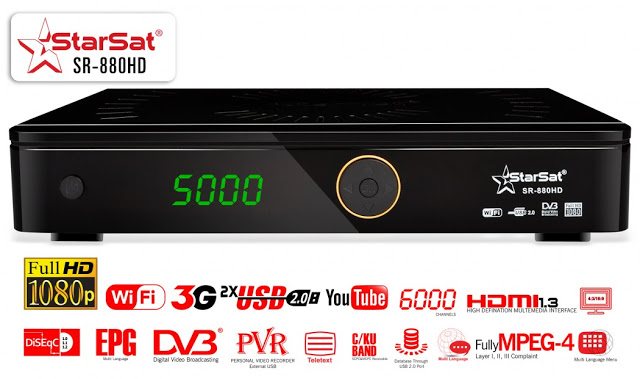 Starsat SR-880HD Satellite Receiver Software, Tools