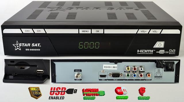 StarSat SR-9800HD