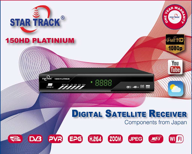 Star Track SRT 150HD PLATINUM Receiver Software, Tools