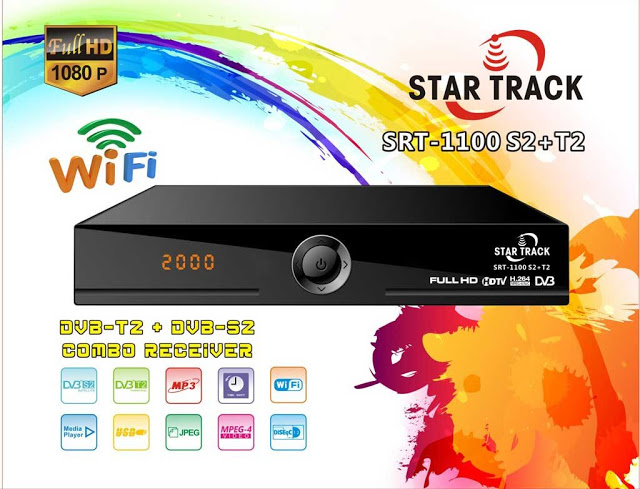 Star Track SRT-1100 S2+T2 receiver Software, Tools