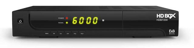 HD BOX HDB 7200 Green Receiver Software, Tools