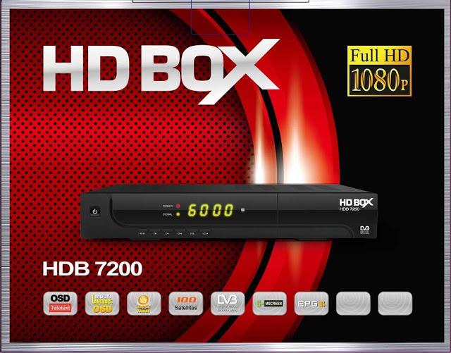 HD BOX HDB 7200 RED Receiver Software, Tools