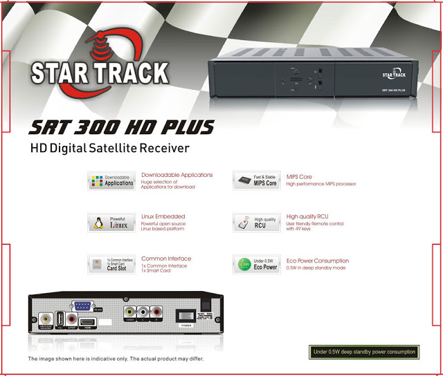 Star Track SRT-300 HD PLUS Receiver Software, Tools