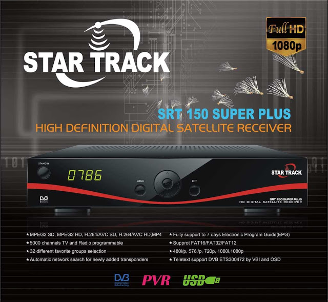 Star Track SRT-150 SUPER PLUS Receiver Software, Tools