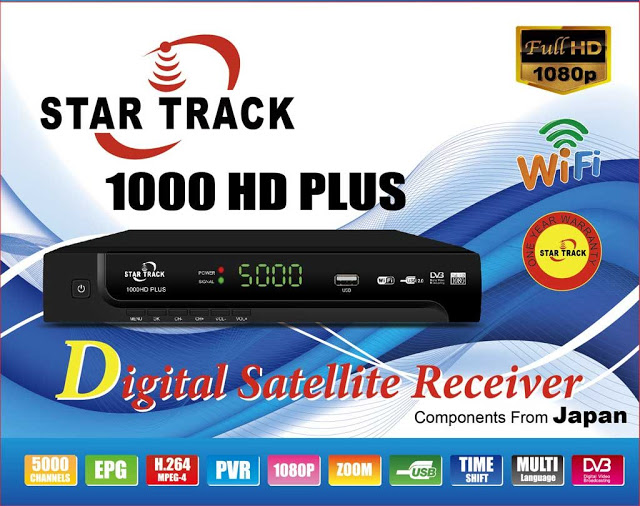 Star Track SRT 1000HD PLUS Receiver Software, Tools