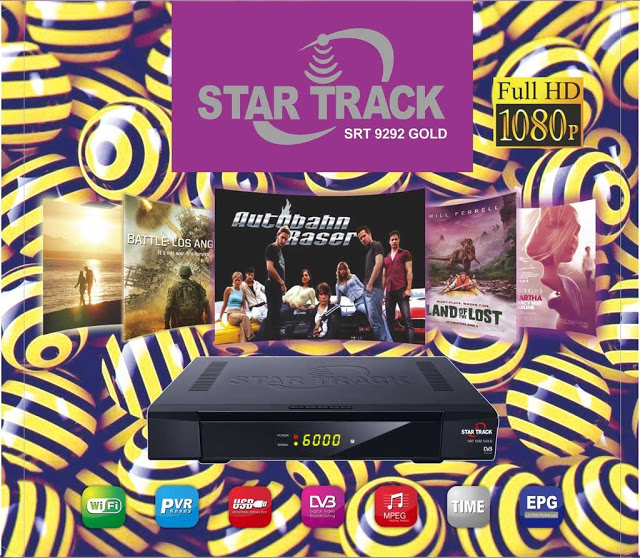Star Track SRT-9292 Gold Receiver Software, Tools