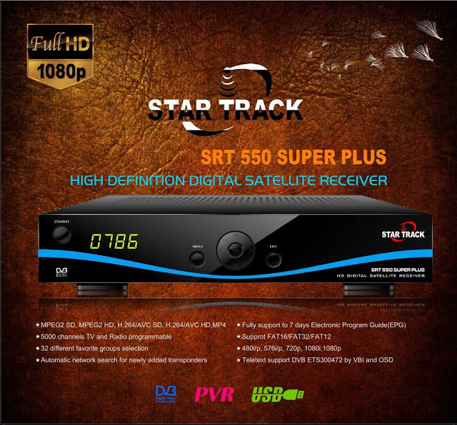 Star Track SRT-550 SUPER PLUS Receiver Software, Tools
