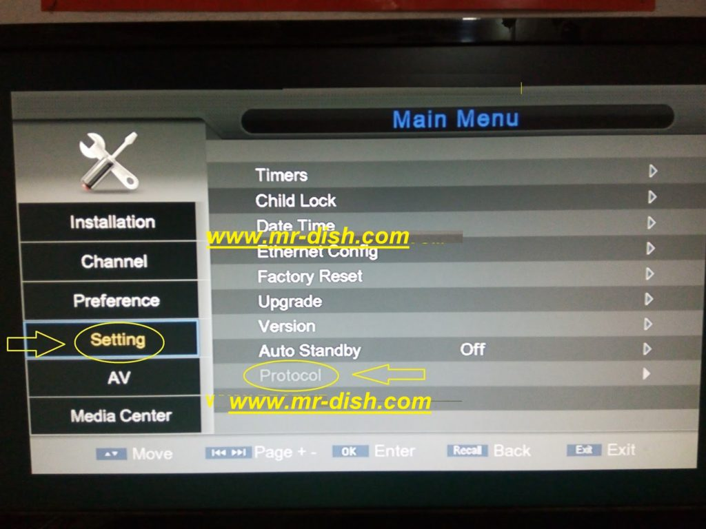 HOW TO ADD CLINE IN NEOSAT 6000BOOM HD RECEIVER - Mr-Dish