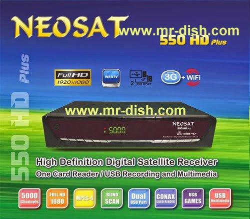NEOSAT 550 HD PLUS