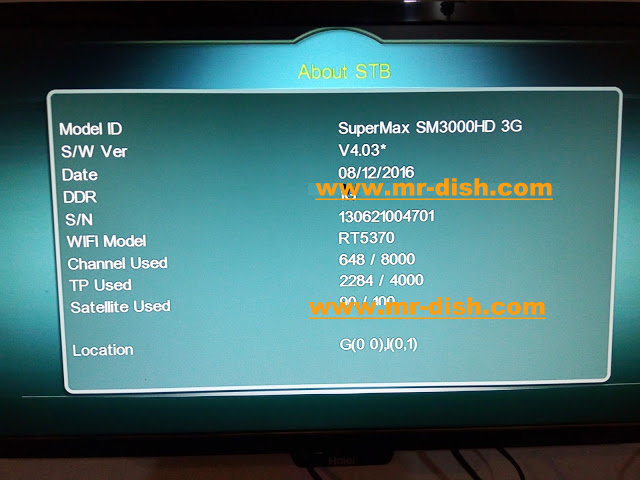 SUPER MAX SM 3000 HD Receiver Powervu Software - Mr-Dish