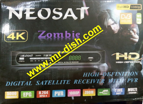 NEOSAT ZOMBIE HD RECEIVER POWERVU SOFTWARE