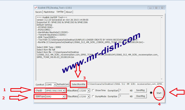 How to 1506G 8M Convert To 4M New Powervu Software