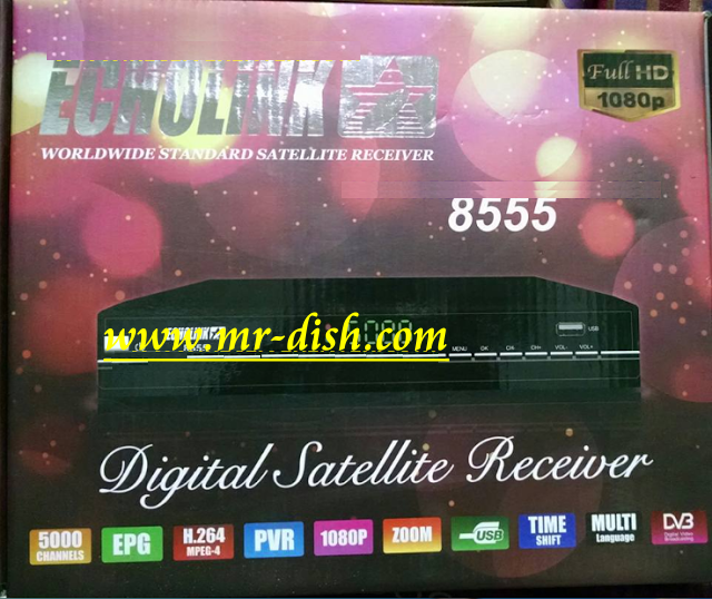 ECHOLINK 8555 HD RECEIVER POWERVU SOFTWARE ERROR FIXD