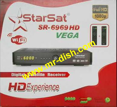 STARSAT SR-6969 HD VEGA LATEST POWERVU SOFTWARE
