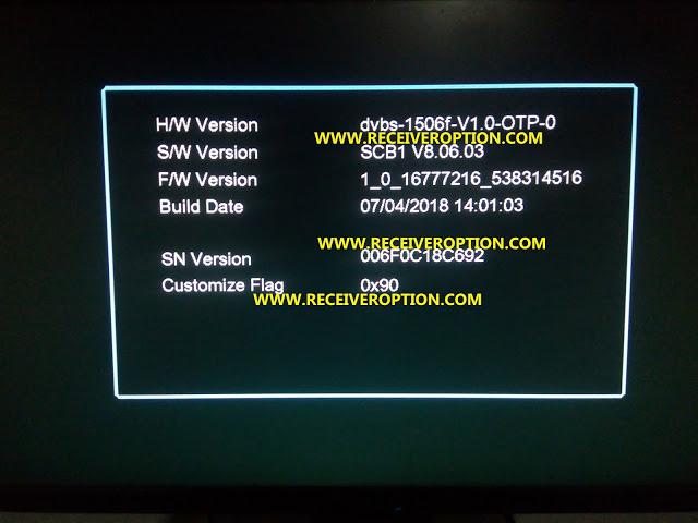 Multimedia 1506F Receiver Latest Autoroll Powervu Software