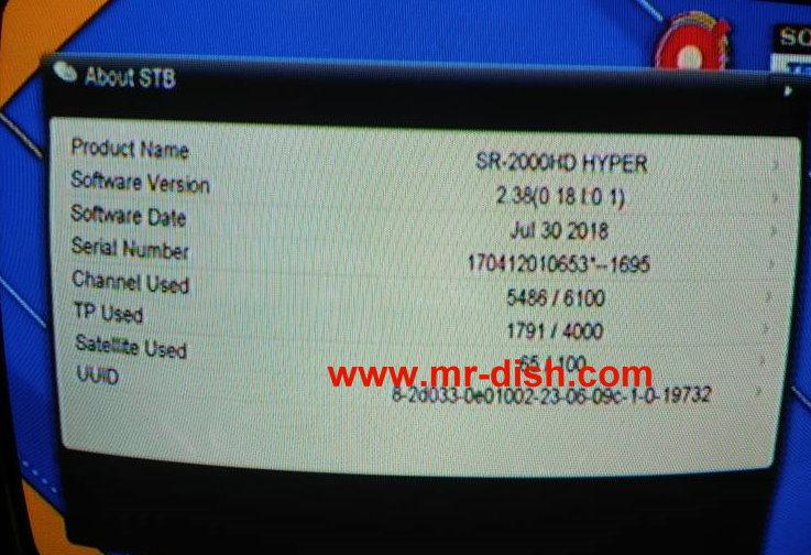 STAR SAT SR-2000 HD HYPER LATEST AUTOROLL POWERVU SOFTWARE