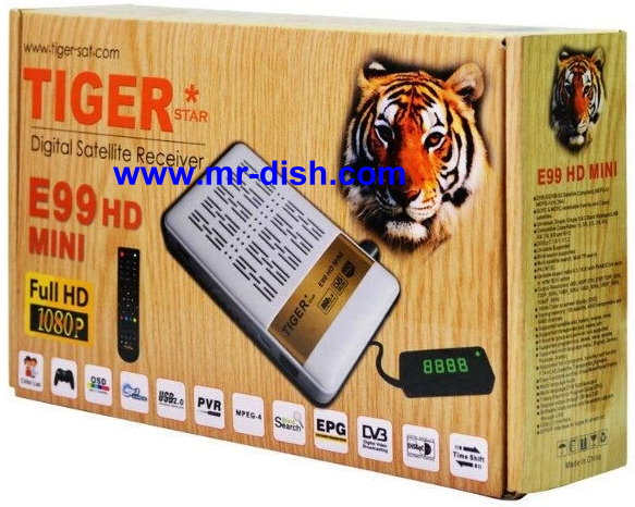 TIGER E99 MINI HD Satellite Receiver Software, Tools