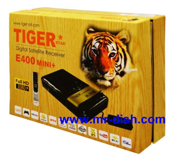 TIGER E400 PLUS MINI Satellite Receiver New Software, Tools