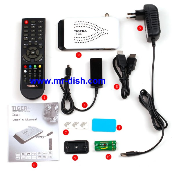 TIGER I-555 PLUS HD SATELLITE RECEIVER LATEST SOFTWARE, TOOLS