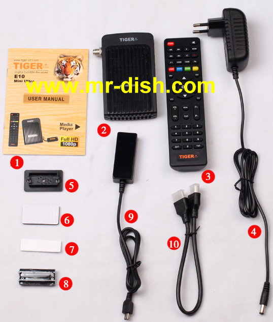 TIGER E10 MINI ULTRA Satellite Receiver Software, Tools