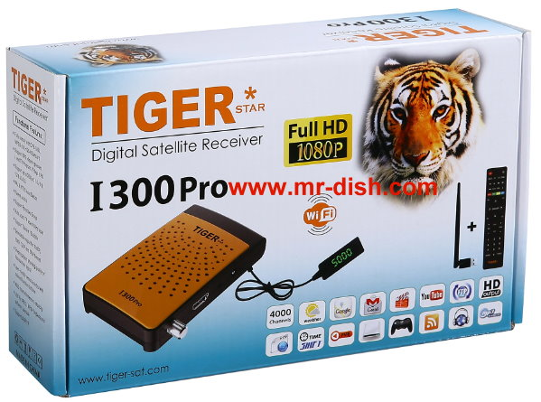 TIGER I 300 PRO HD SATELLITE RECEIVER LATEST SOFTWARE, TOOLS - Mr-Dish