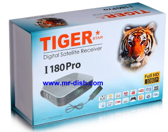 TIGER I 180 PRO HD SATELLITE RECEIVER LATEST SOFTWARE, TOOLS