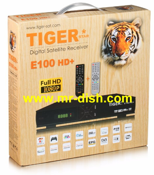 TIGER E100 HD Satellite Receiver Software, Tools