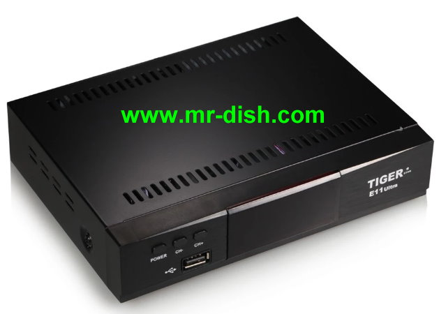 TIGER E11 ULTRA Satellite Receiver New Software, Tools