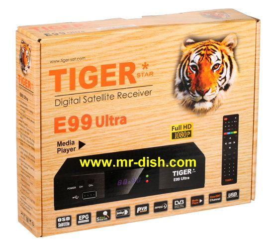 TIGER E99 ULTRA Satellite Receiver Latest Softwar, Tools