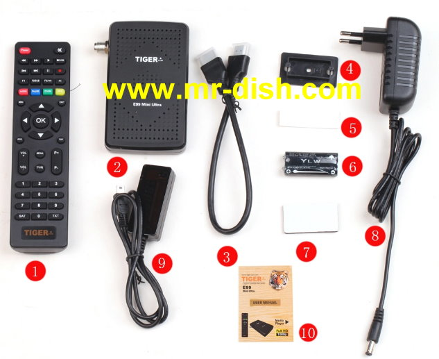 TIGER E99 ULTRA MINI Satellite Receiver Latest Softwar, Tools