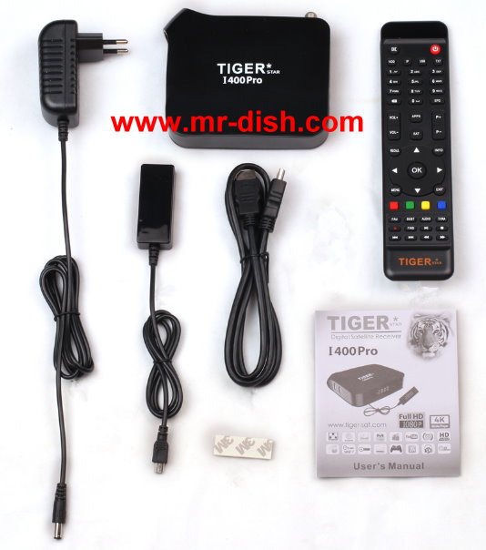 TIGER I 400 PRO HD SATELLITE RECEIVER LATEST SOFTWARE, TOOLS