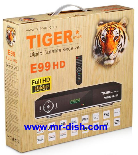 TIGER E99 HD Satellite Receiver New Software, Tools