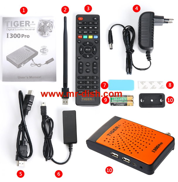 TIGER I 300 PRO HD SATELLITE RECEIVER LATEST SOFTWARE, TOOLS