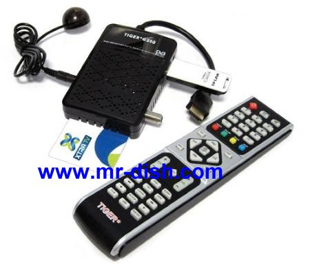 TIGER G250 HD Satellite Receiver New Software, Tools
