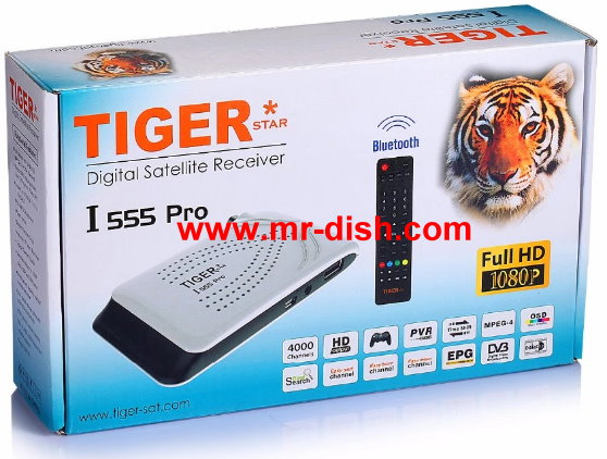 TIGER I-555 PRO HD SATELLITE RECEIVER LATEST SOFTWARE, TOOLS