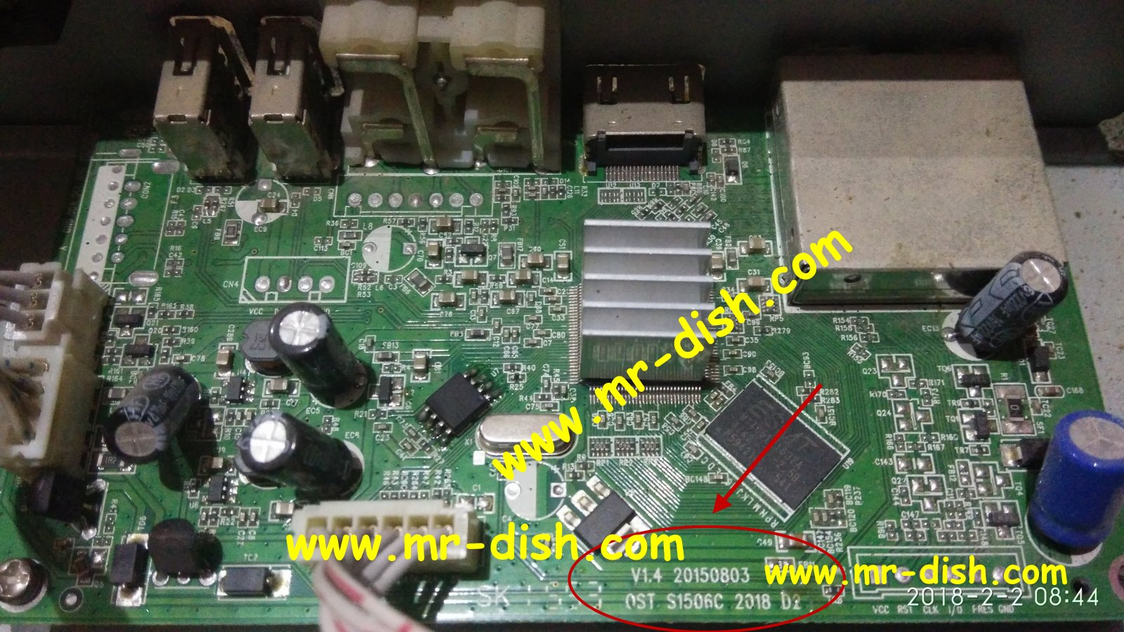 OST S1506C 2018 D2 V1 4 BOARD PROTOCOL RECEIVER POWERVU