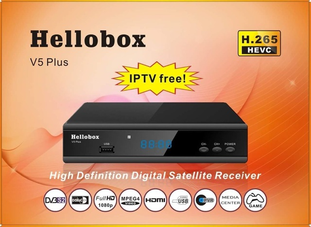 Hellobox V5 Plus Receiver Latest Autoroll Powervu Software