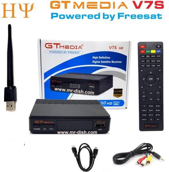 Freesat V7S HD Satellite Receiver New Software Autoroll Powervu