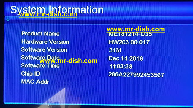 GX6605S HW 203.00.017 HD RECEIVER Latest Powervu Software