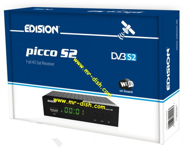EDISION Picco S2 SATELLITE RECEIVER LATEST SOFTWARE