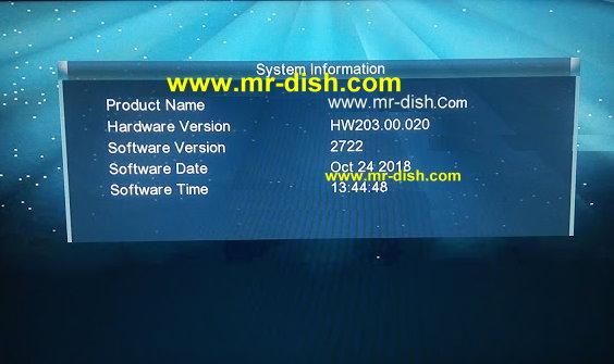GX6605S HW 203.00.017 HD RECEIVER Latest Powervu Software