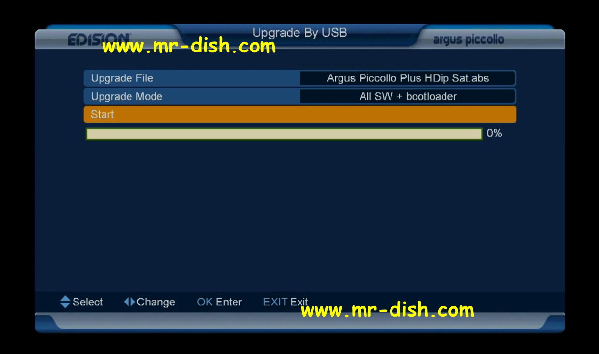 HOW TO UPDATE SOFTWARE EDISION Picco S2 HD RECEIVER