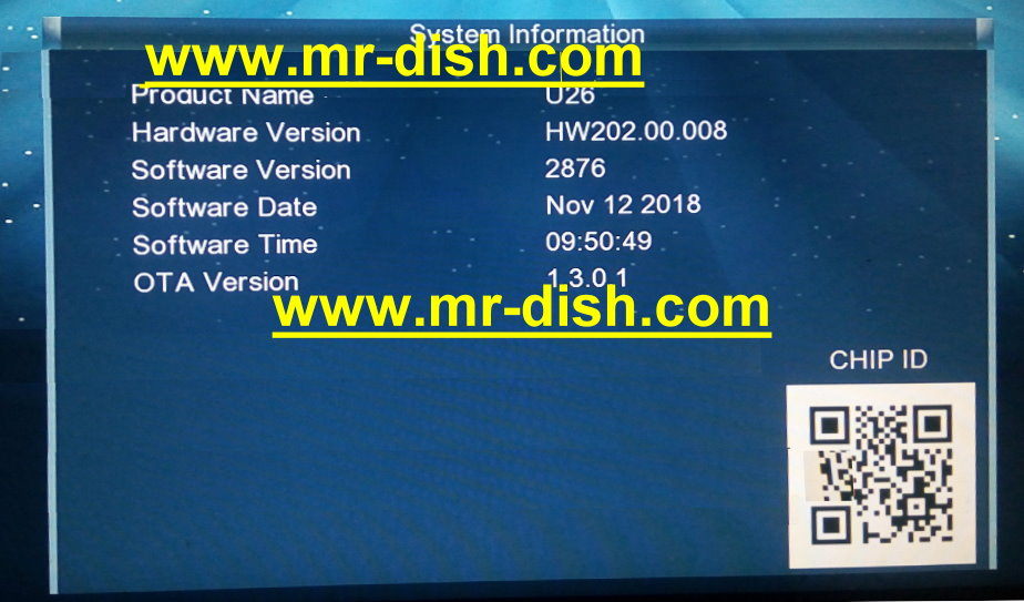 GX6605S HW203 00 008 HD RECEIVER NEW POWERVU SOFTWARE - Mr-Dish