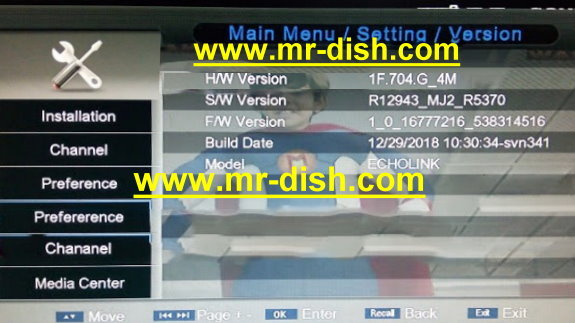 PROTOCOL 4MB 1506G/C HD NEW AUTOROLL POWERVU SOFTWARE - Mr-Dish