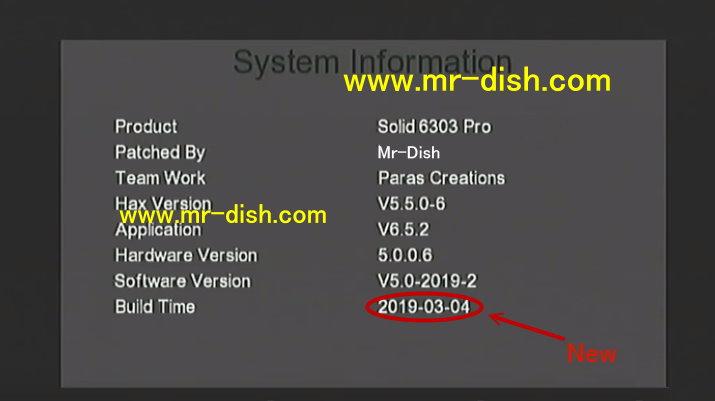 Solid HDS2-6363 Pro RECEIVER AUTOROLL POWERVU NEW SOFTWARE