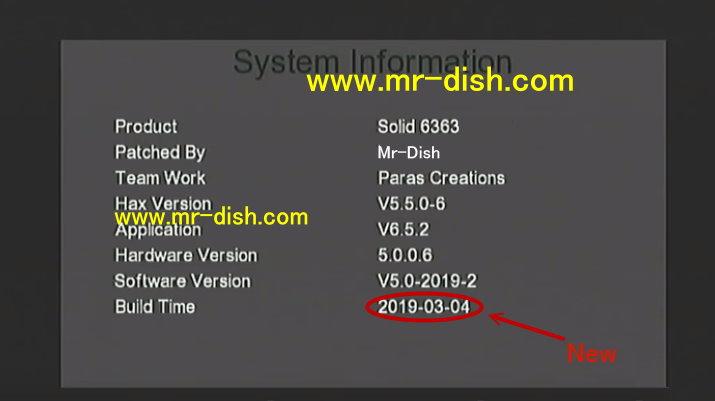 Solid HDS2-6363 RECEIVER AUTOROLL POWERVU NEW SOFTWARE