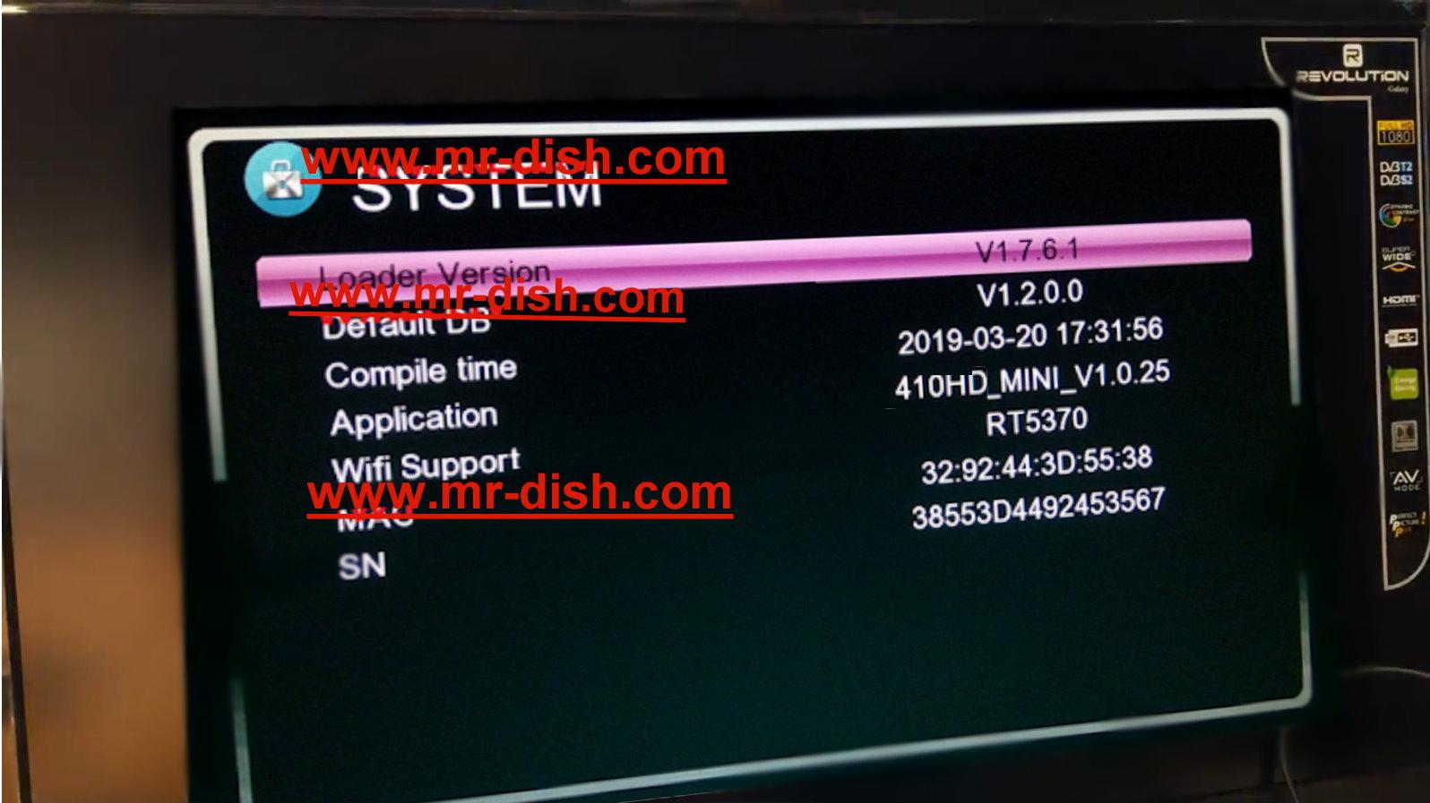 DREAMSAT 410 HD MINI RECEIVER LATEST POWERVU SOFTWARE