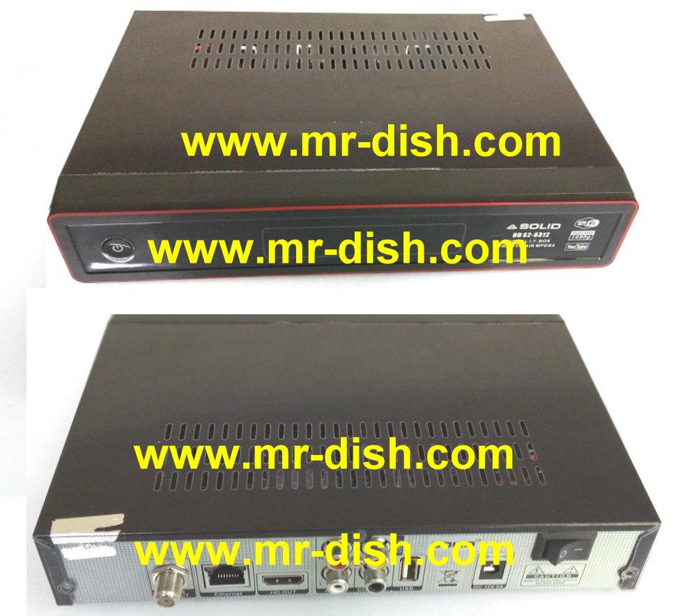 SOLID 3612 HD Receiver New Autoroll Powervu Software